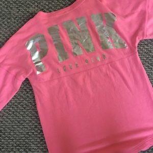Pink/Victoria secret sweater